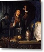 The Physician 1653  Metal Print