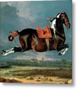 The Piebald Horse Metal Print