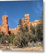 The Pillars Metal Print