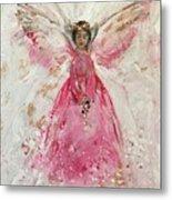 The Pink Angel  Metal Print