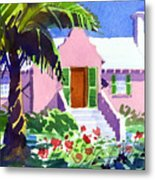 The Pink Palace Metal Print