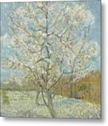 The Pink Peach Tree Arles, April - May 1888 Vincent Van Gogh 1853  1890 Metal Print
