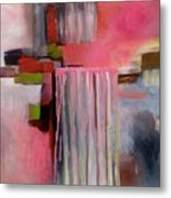 The Pink Piece Of Purity Metal Print