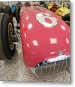 The Pink Zink 1955 Indy 500 Winner Metal Print