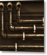 The Pipes Metal Print