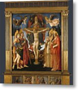 The Pistoia Santa Trinita Altarpiece Metal Print