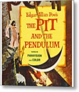 The Pit And The Pendulum, 1961 Metal Print