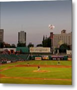 The Pitch Metal Print