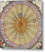 The Planisphere Of Copernicus Harmonia Metal Print