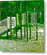 The Playground IIi - Ocean County Park Metal Print