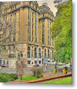 The Plaza Metal Print