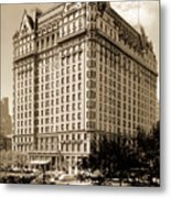 The Plaza Hotel Metal Print