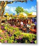 The Plaza Magic Kingdom Walt Disney World Metal Print