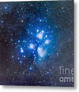 The Pleiades, Also Known As The Seven Metal Print