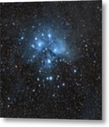 The Pleiades, Also Known As The Seven Metal Print by John Davis