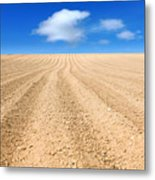 The Ploughed Field 2 Metal Print