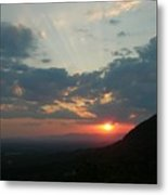 The Point At Sunset Metal Print