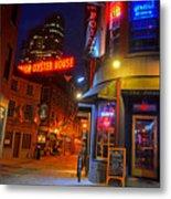 The Point Marshall Street Boston Ma Metal Print