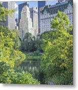 The Pond Metal Print by Ed Rooney