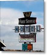 The Pony Soldier Motel On Route 66 Metal Print