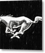 The Pony Metal Print