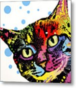 The Pop Cat Metal Print by Dean Russo