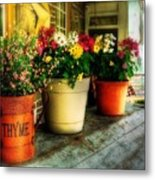 The Porch Swing Metal Print