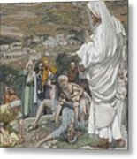 The Possessed Boy At The Foot Of Mount Tabor Metal Print