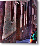 The Post Alley Gum Wall Metal Print