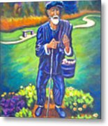 The Potato Man Metal Print