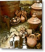 The Potters World Metal Print