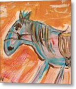The Power Horse Metal Print