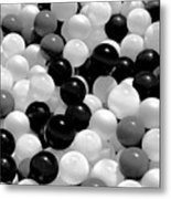 Power Balls Metal Print
