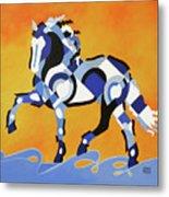 The Power Of Equus Metal Print