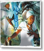 The Prayer Tree Haiti Metal Print