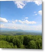 The Presidential Range From The Watchtower At Weeks State Park Metal Print