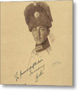 The Prince Kyrill  Of Bulgaria Metal Print