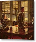 The Prodigal Son In Modern Life  The Departure Metal Print