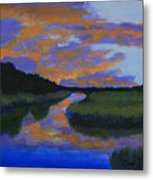The Promise Of Night Metal Print