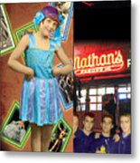 The Promise Of The Hoochi Coochie Showman's Daughter Metal Print