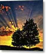 The Promise Oil Metal Print