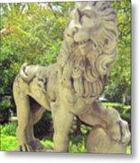 The Proud Lion  Metal Print