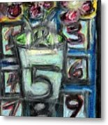 The Psychic Telephone Metal Print