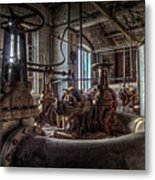 The Pumphouse Metal Print