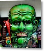 The Puppet Show Metal Print