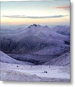 The Purple Headed Mountains Metal Print