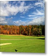 The Putting Green Metal Print