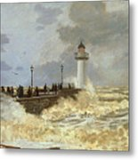 The Quay At Le Havre Metal Print