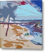 The Quay-seaside Metal Print