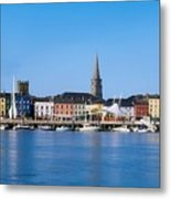 The Quays, Wexford, County Wexford Metal Print